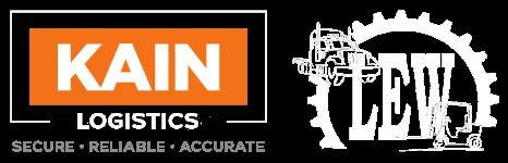 KAIN Logistics and LEW Logo